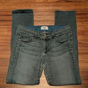 Paige Hidden Hills Straight Jeans Size 31
